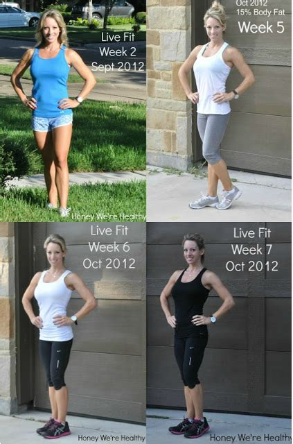 jamie eason 12 week trainer results jamie eason live fit 12 week trainer completed my 12 week