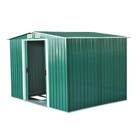 ripostiglio attrezzi da giardino outsunny box casetta da giardino ripostiglio per