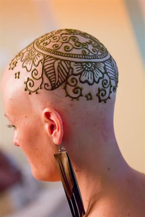 henna tattoo on bald head henna crown henna mendi mehndi henna