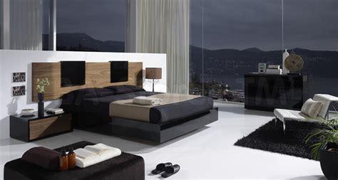 eslida gallery blackwalnut  pc bedroom set modern bedroom furniture sets  york