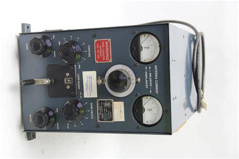 tmc antenna tuning unit tac limit manual tuner 2 30 megacycles ham radio ebay