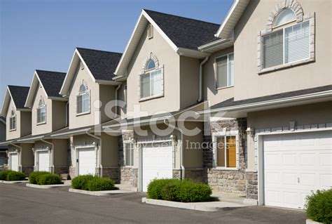 townhouse or house row of townhouses stock photos freeimages com