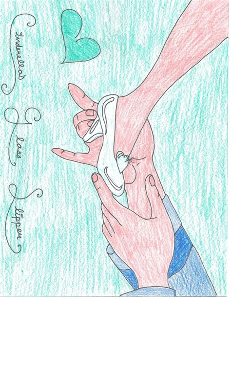 how to draw a glass slipper cinderella s glass slipper drawing by julietcapulet432 on