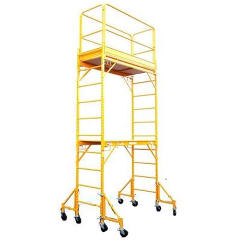 fortress rolling drywall scaffold unit 1000 lb load