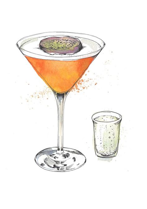 martini illustration de winton paper co cocktail illustration martini