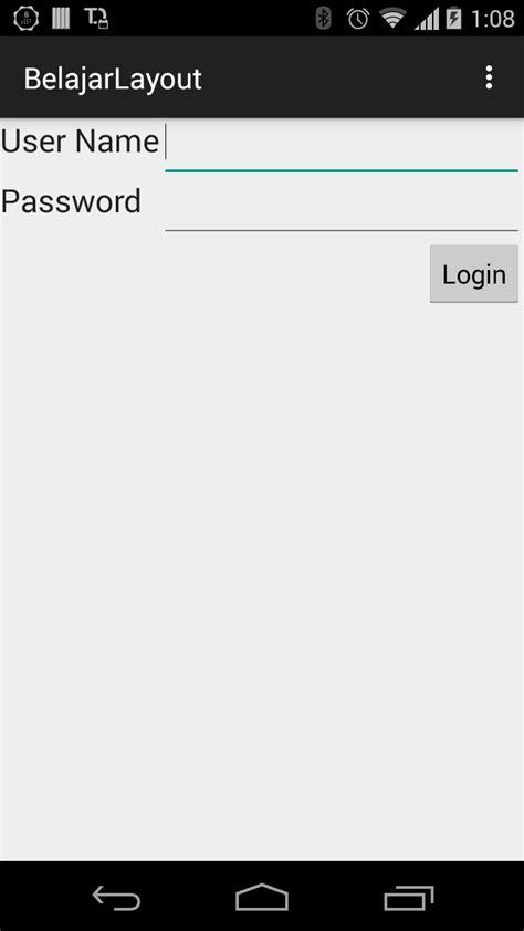 jenis layout pada android belajar android studio mengenal layout bagian 2 relative