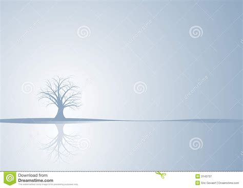 abstract vector winter tree design abstract vector winter tree royalty free stock photography image 3143737
