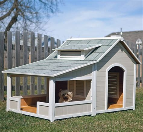 outside dog houses 41 cool luxury dog houses for your pooch