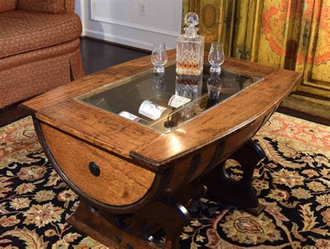 whiskey barrel coffee table 15 amazingly cool coffee table ideas for your living room