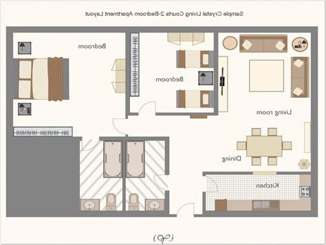 2 Bedroom Apartment Layout Ideas House Design And Plans