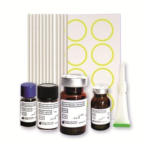 Reagent Larutan Laboratorium Immunology Serology Uk elitex bicolor albi dubli