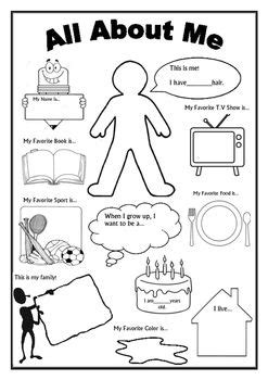 Simple Quiz About Me Seri 2 this is an awesome worksheet as a getting to you activity on the day of school if