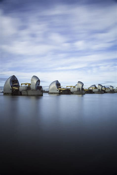 Thames Barrier Upgrade | photographing the thames barrier