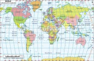 World Map Latitude And Longitude by Latitude And Longitude Map3 World Idea Severe Storm