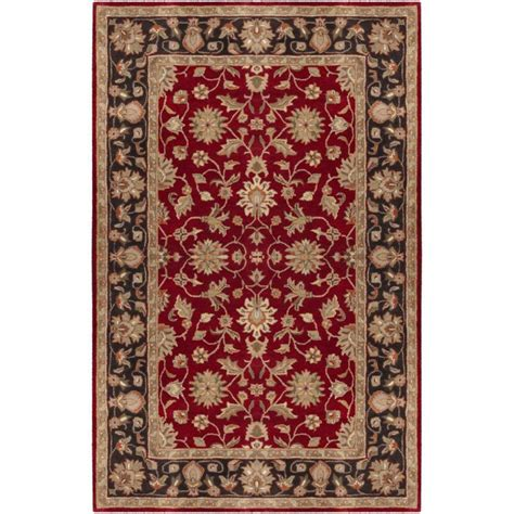 home depot wool area rugs artistic weavers palinges burgundy wool 8 ft x 11 ft area rug the home depot canada