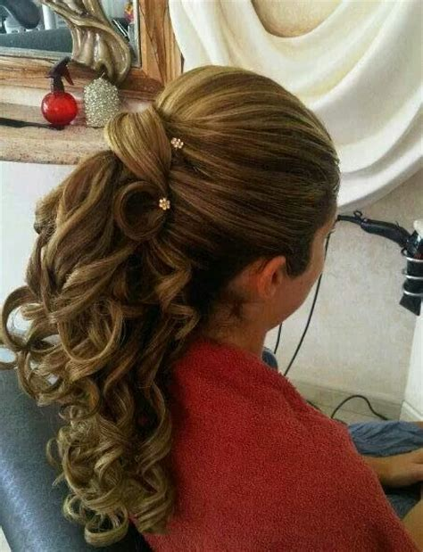dressy ponytail hairstyles the 25 best dressy ponytail ideas on pinterest low pony