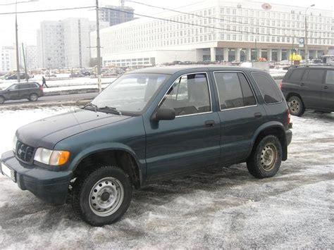 2000 Kia Sportage Manual 2000 Kia Sportage Pictures 2 0l Gasoline Ff Manual