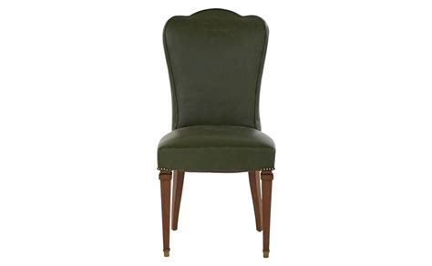 Vintage Green Leather Chair by Vintage Green Leather Chair Jayson Home