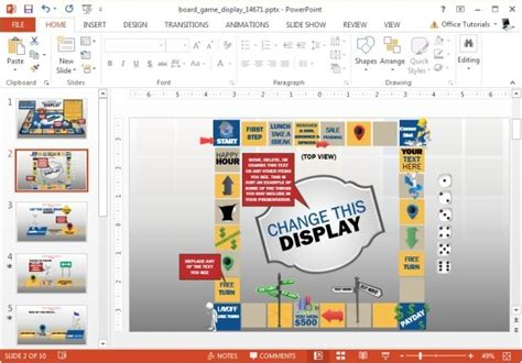 powerpoint board template powerpoint board template the highest quality
