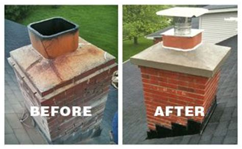 atlanta chimney repairs cement chimney crown rebuild