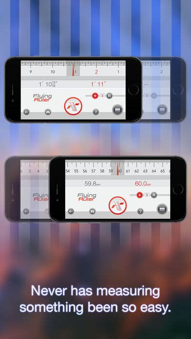 iphone ruler move to measure flying ruler on the app store