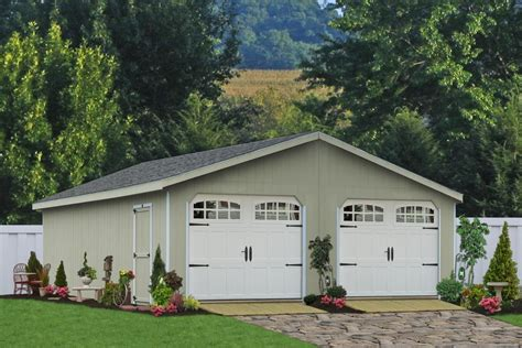 4 car garage cost buy double wide garages from pa sheds unlimited