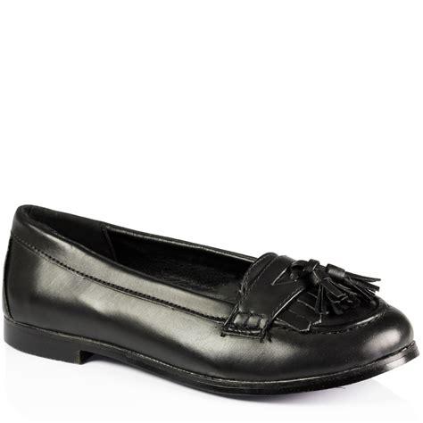 school loafers flat casual tassell loafers smart padded school