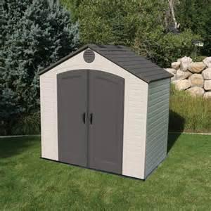 lifetime 8x5 plastic shed