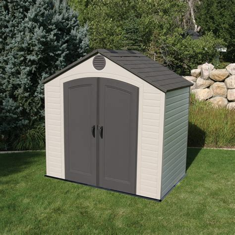 Backyard Wood Sheds by Lifetime 8x5 Plastic Shed