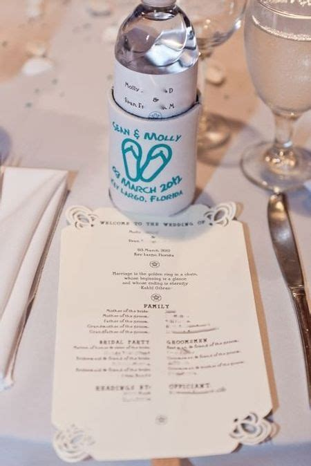 17 Best images about Koozie Favors on Pinterest   Wedding