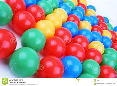 colored balls plastic colored balls royalty free stock photography