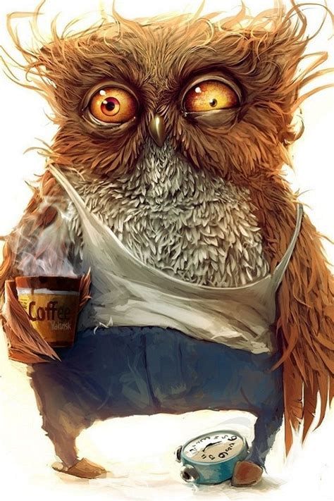 wallpaper owl coffee funny owl wallpaper iphone 4s wallpaper iphone 4 s