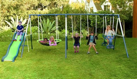 swinging h natus inc rosemead metal slide and swing set reviews