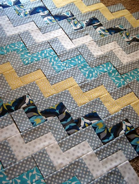 Best Fabric For Quilting by Make This Zig Zag Chevron Quilt
