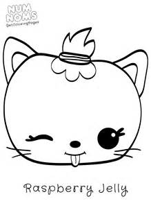 nom nom coloring pages num noms coloring page raspberry jelly get coloring pages