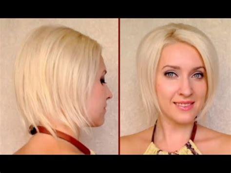 bob hairstyles tutorial how to fake short hair faux bob hair tutorial updo for