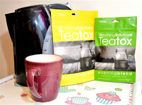 Detox Tea Reviews Uk by My Detox With Slimming Solutions Teatox Review With