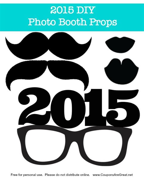 free photo booth props template 708 x 704 406 kb jpeg