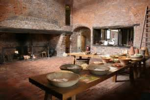 ordinary Images Of Country Kitchens #1: Medieval_kitchen_-_geograph.org.uk_-_531916.jpg