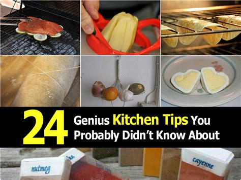 kitchen tips 24 genius kitchen tips you probably didn t know about
