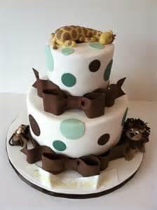 baby shower cakes animal baby shower cake ideas