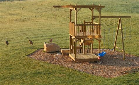 plans 2 build a kid s play fort trapdoor swing slide ebay