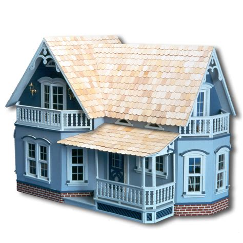 large wooden doll house large wooden doll house vintage victorian kit wood dollhouse diy mansion girls ebay