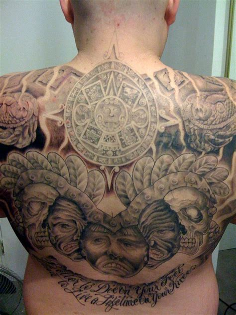 aztec eagle tattoo designs aztec tattoos symbols cool exles designs their