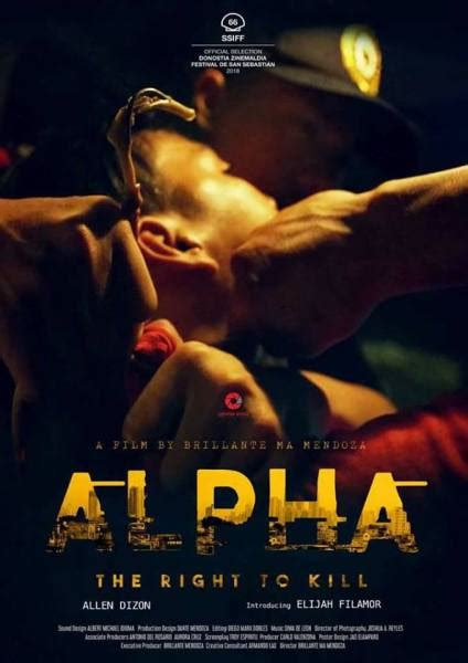 regarder alpha the right to kill complet film streaming vf hd alpha the right to kill film 2018 allocin 233