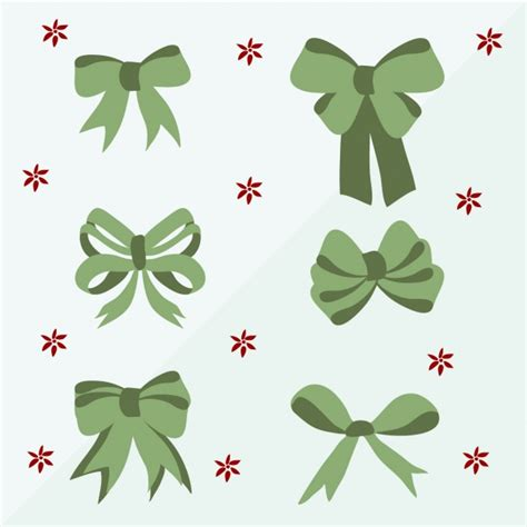 decorative bows decorative bows collection vector free