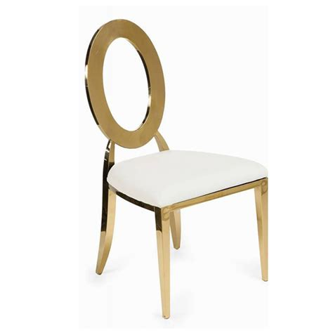 circle chair name back chairs gold stainless steel randz distributors