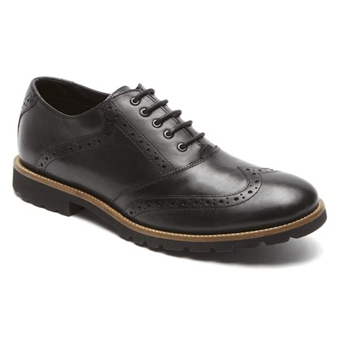 comfortable wingtip shoes marshall wingtip rockport 174 comfortable men s shoes