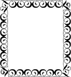 decorative borders decorative border clip at clker vector clip