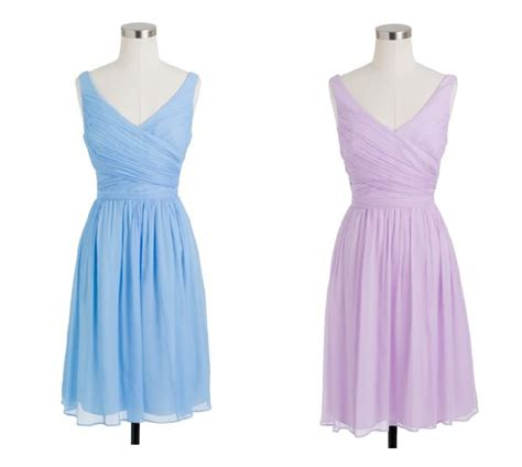 J.Crew Bridesmaid Dresses For A Vintage Wedding   Rustic Wedding Chic